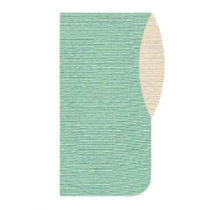 ファスナー半襟 オリジナル長襦袢 袖色違い(No.3:薄緑)